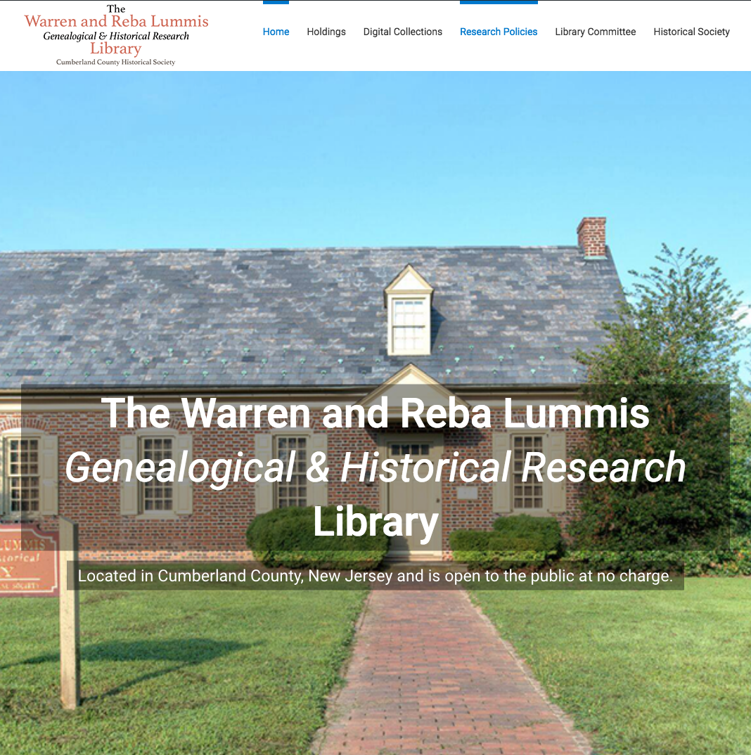 The Warren and Reba Lummis Genealogical & Historical Research Library
